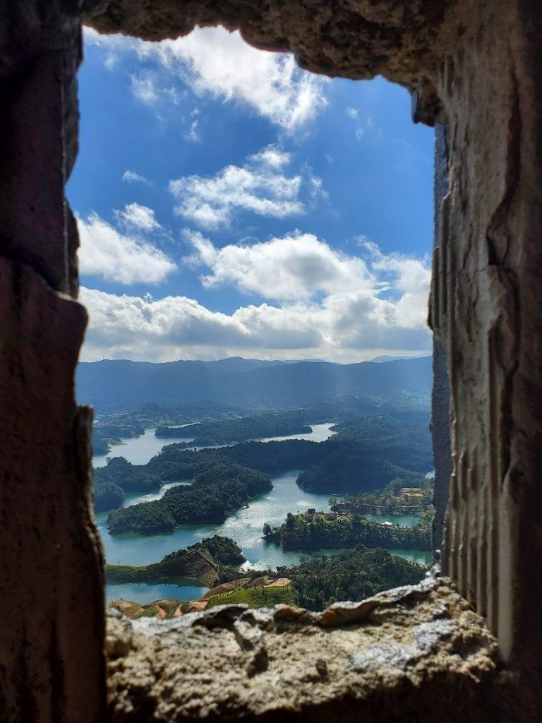 Guatape Window View