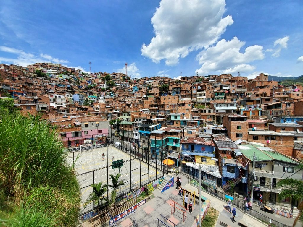 Colombia Itinerary Comuna 13 Neighboorhood