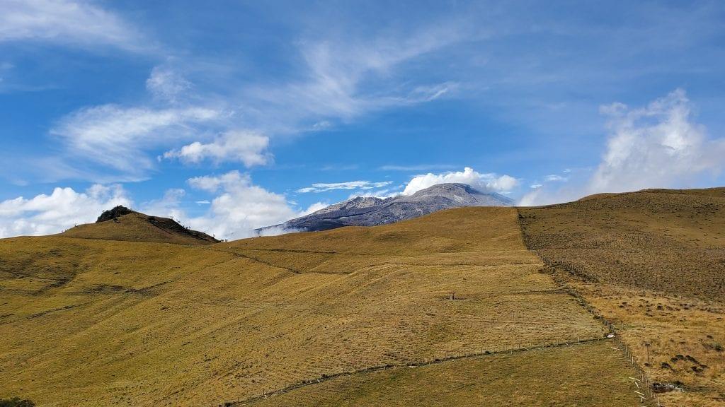 Nevado el Ruiz in Los Nevados in Manizales Colombia