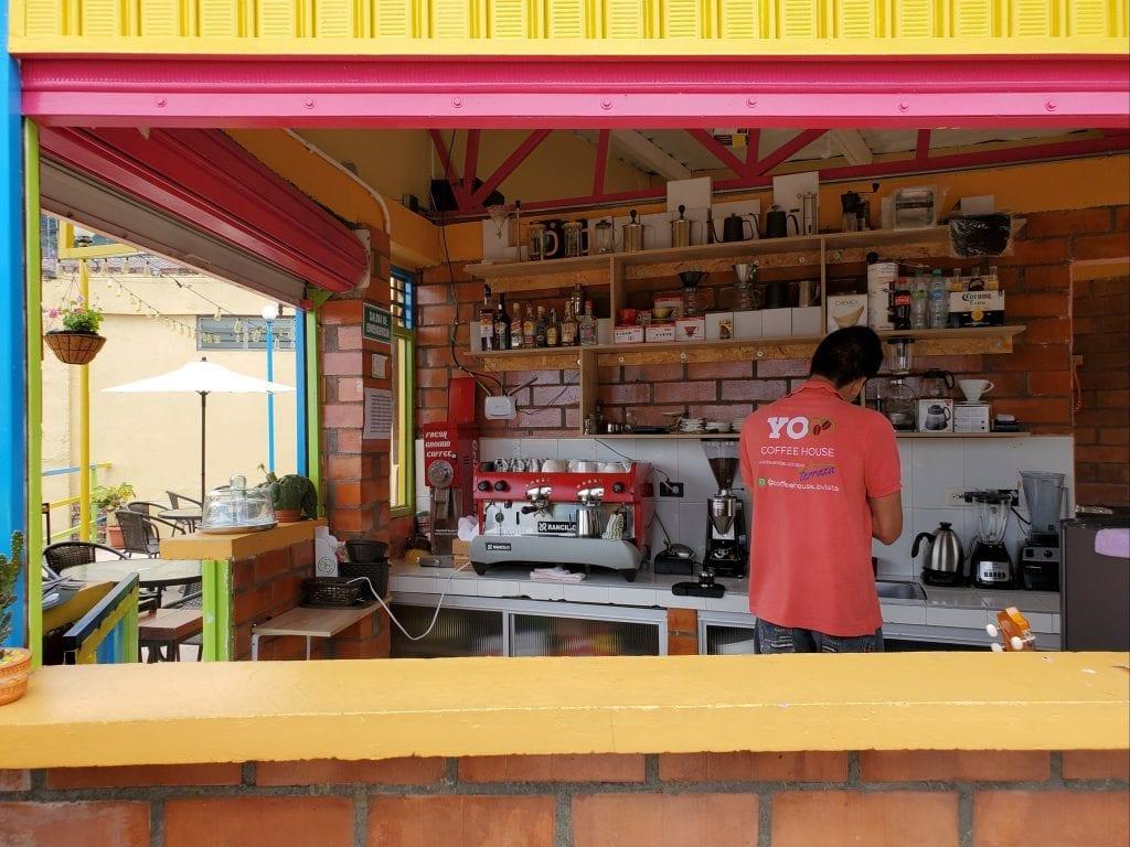 Buenavista Colombia - Coffee House Terraza in Buenavista