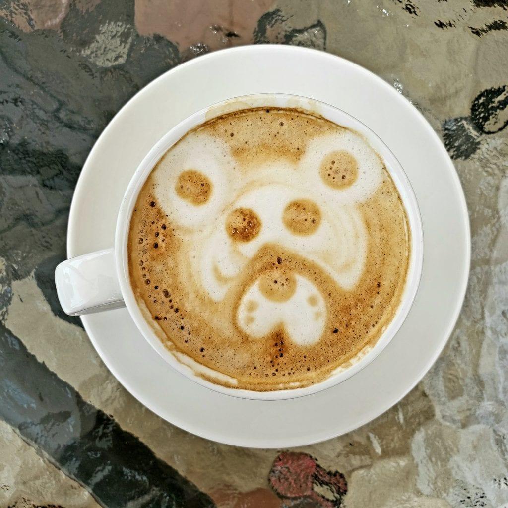 Bear Latte Art in Buenavista