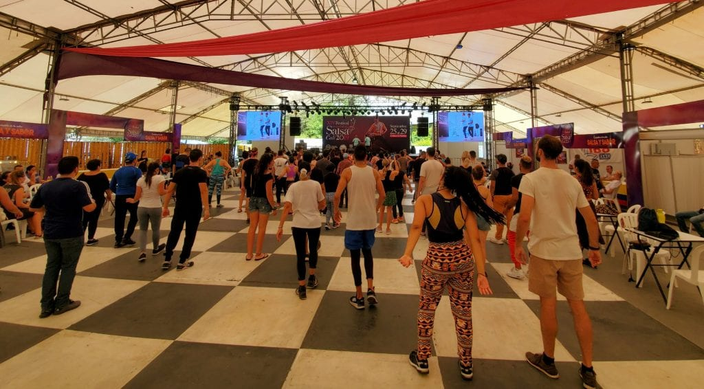 Free Workshop at Festival Mundial de Salsa de Cali
