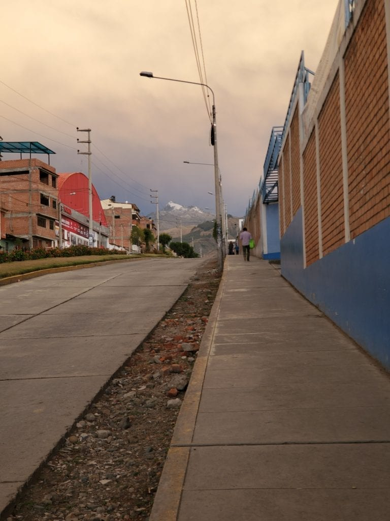 Huaraz Peru Landscape - peaks 1