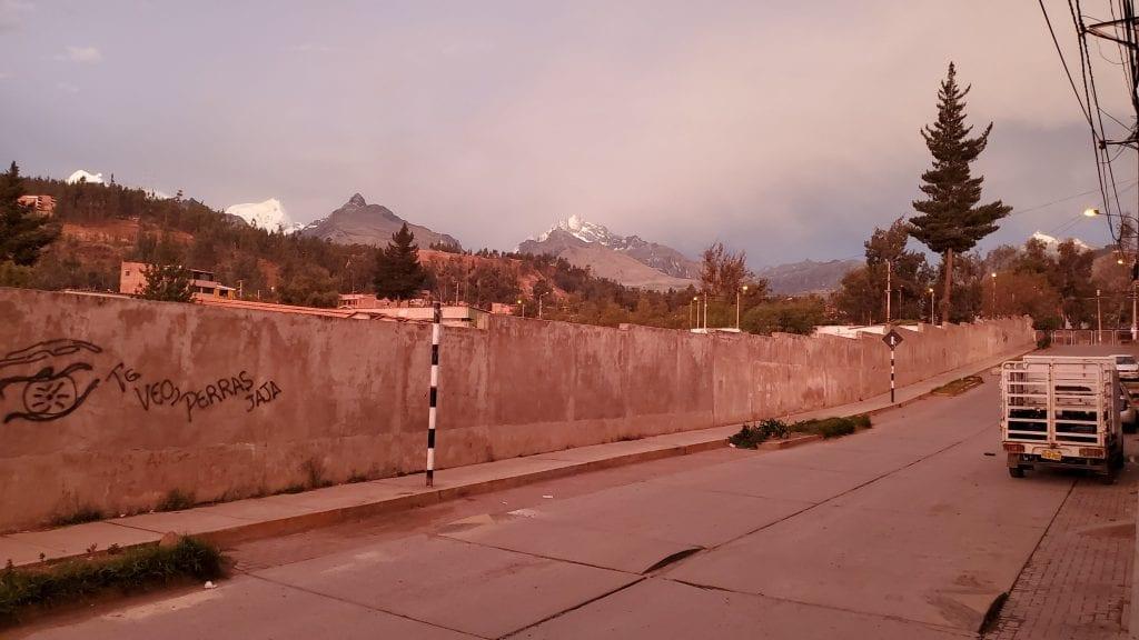 Huaraz Peru Landscape - peaks 2
