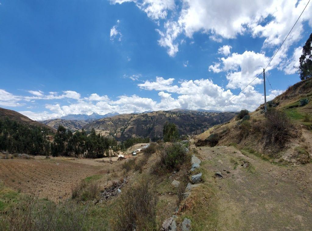 Huaraz Peru Landscape - Wilcachoca 2