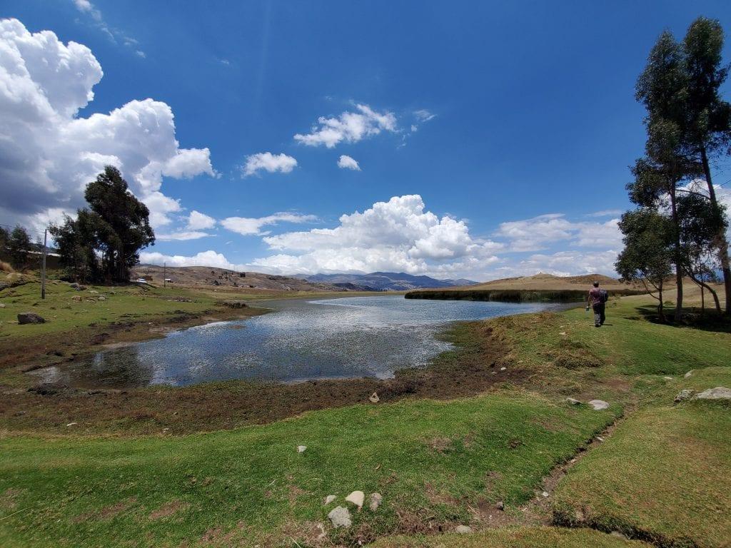 Huaraz Peru Landscape - Wilcachoca 1