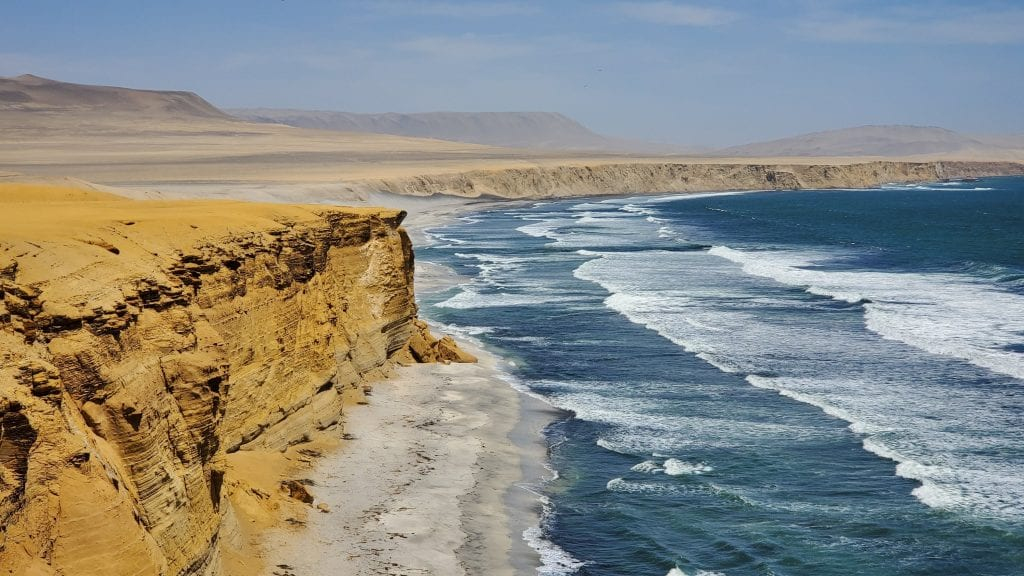 Paracas National Reserve Pacific Ocean