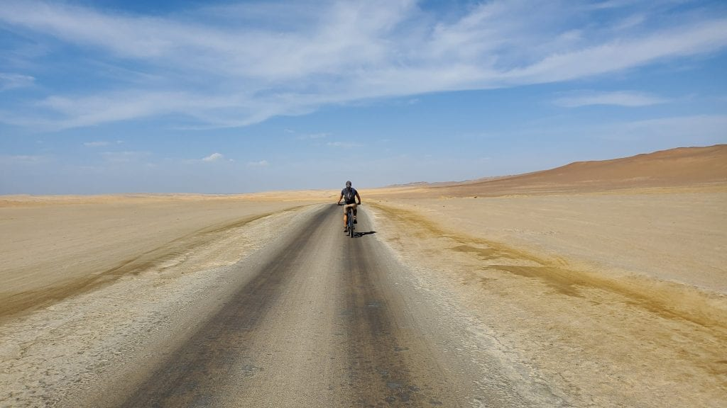 Biking Paracas National Reserve