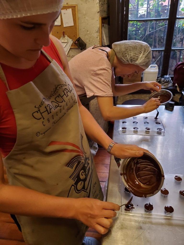 Chaqchao Chocolate Class