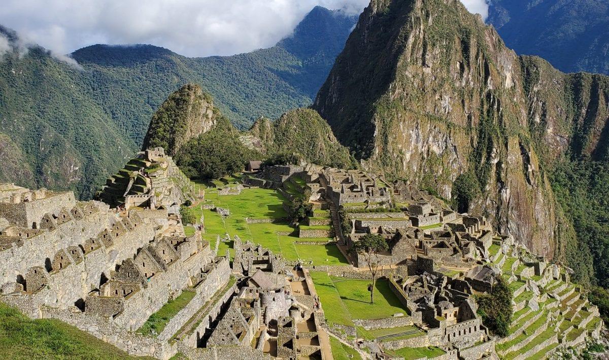 Machu Picchu Sunny Day