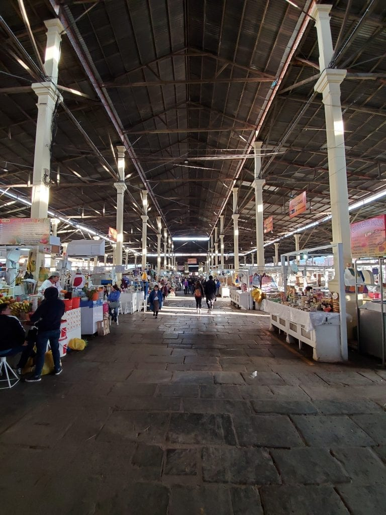 Cusco Peru San Pedro Market