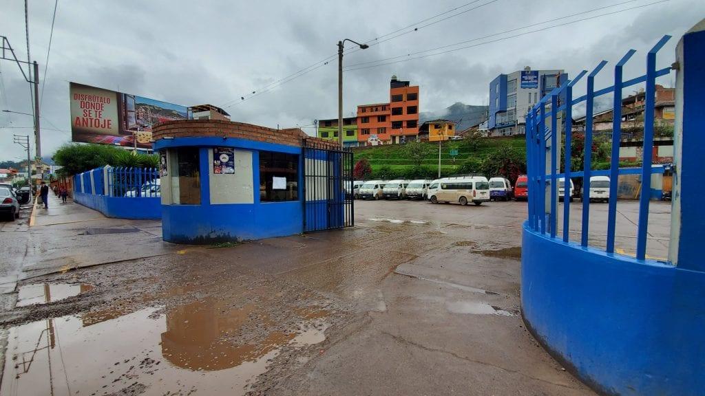 Urubamba Colectivo Terminal