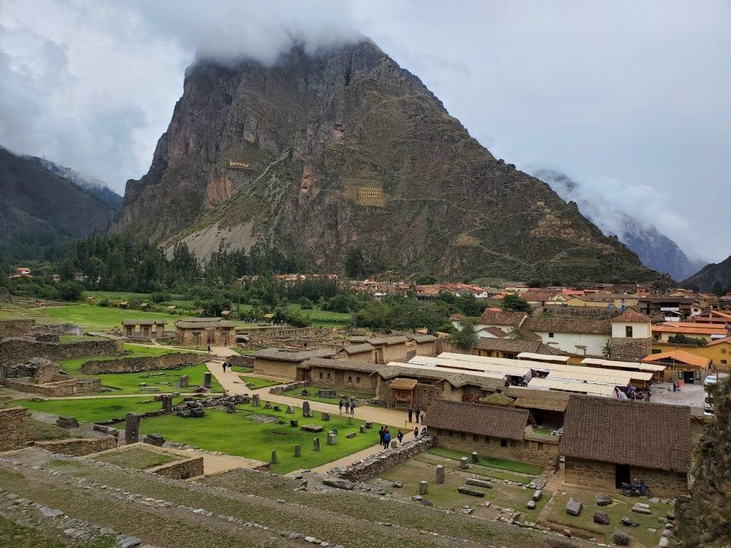 Ollantaytambo Valley Ruins