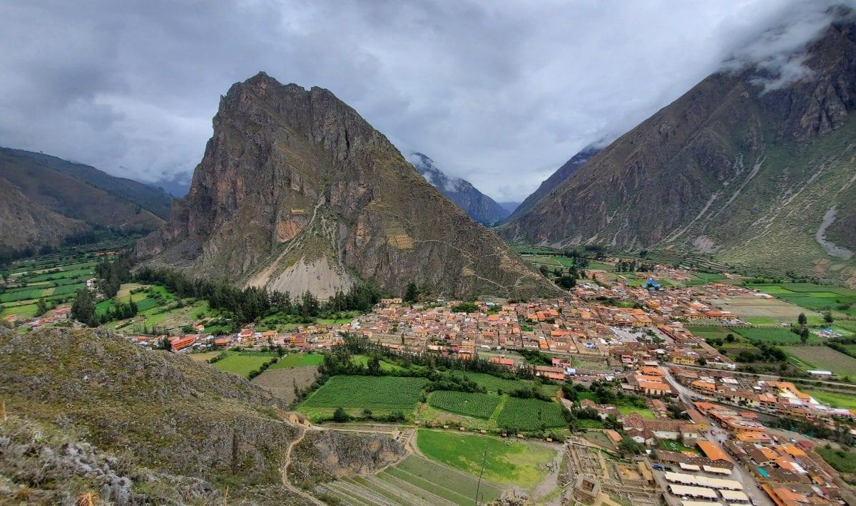 Sacred Valley Peru - Ollantaytambo Landscape