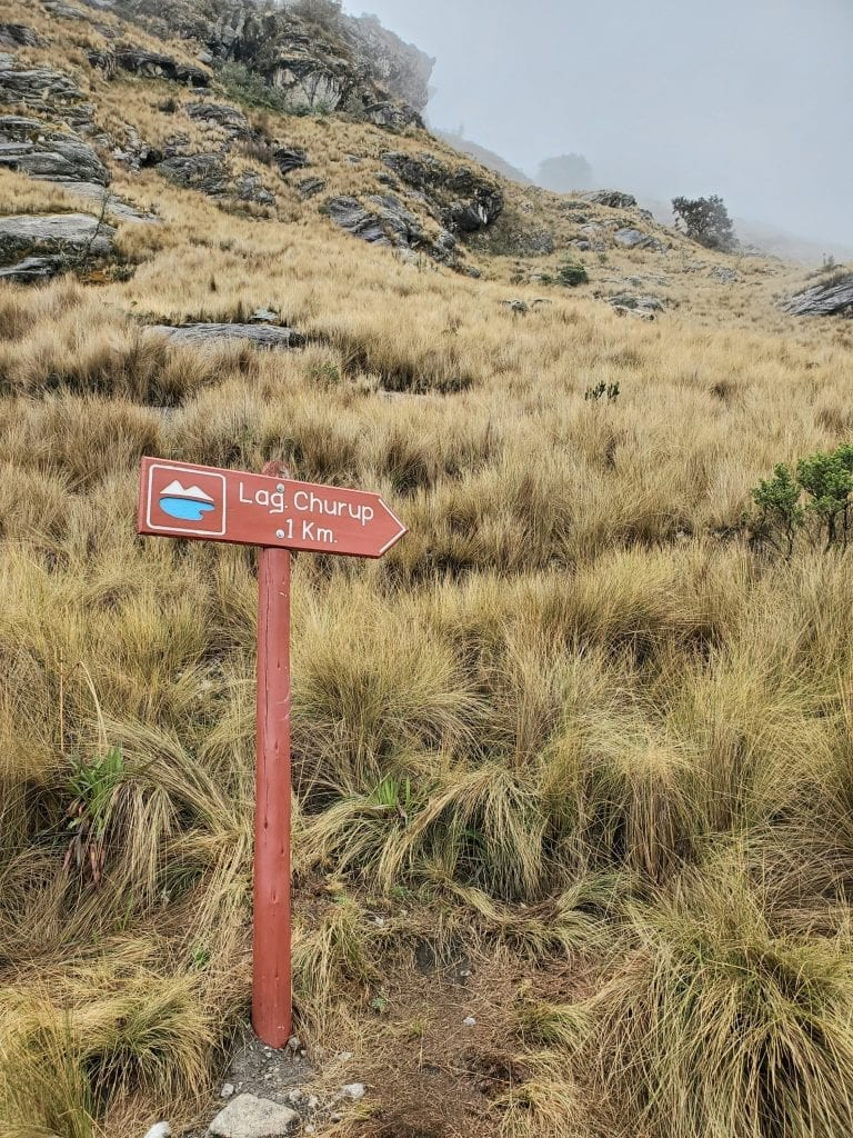 Huaraz Peru Landscape - Churup 1