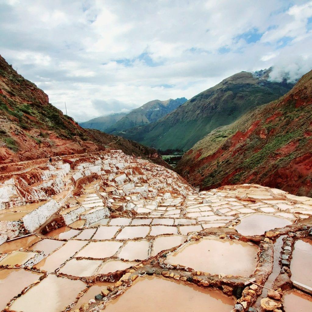 Sacred Valley Peru - Maras Salineras Landscape