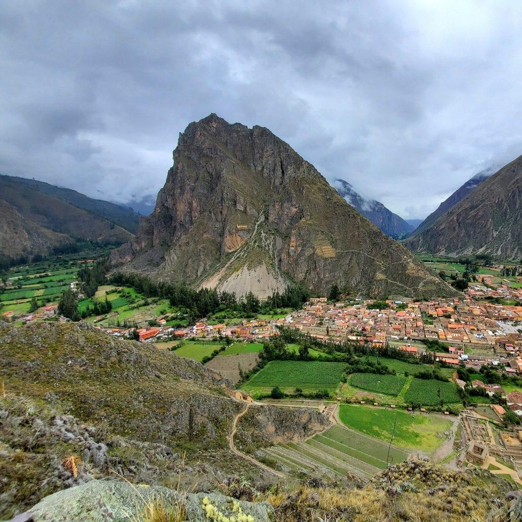 Sacred Valley Peru - Ollantaytambo Landscape 1