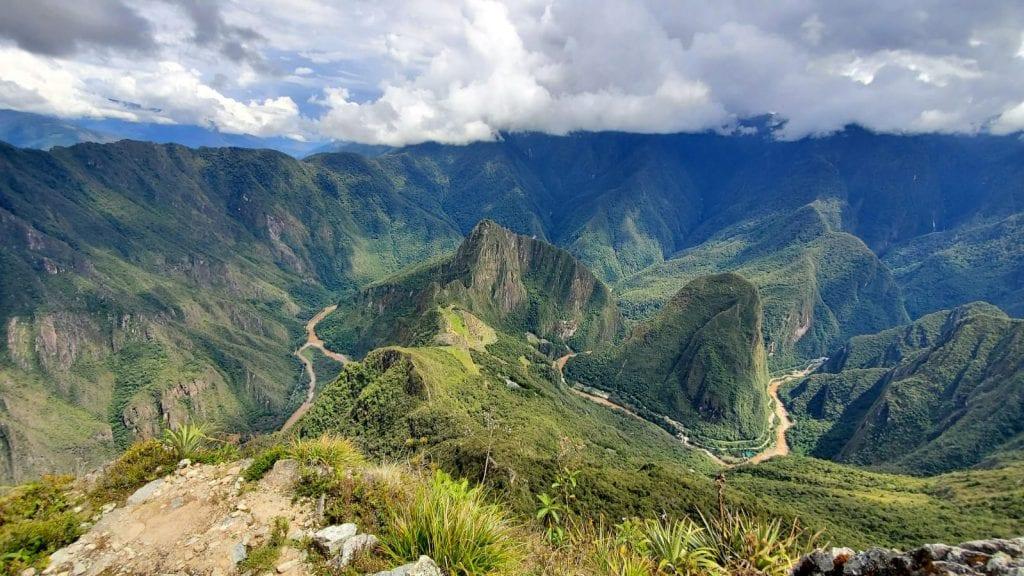 Machu Picchu Mountain View
