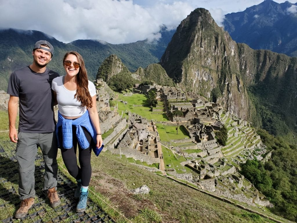 Sunny Day at Machu Picchu