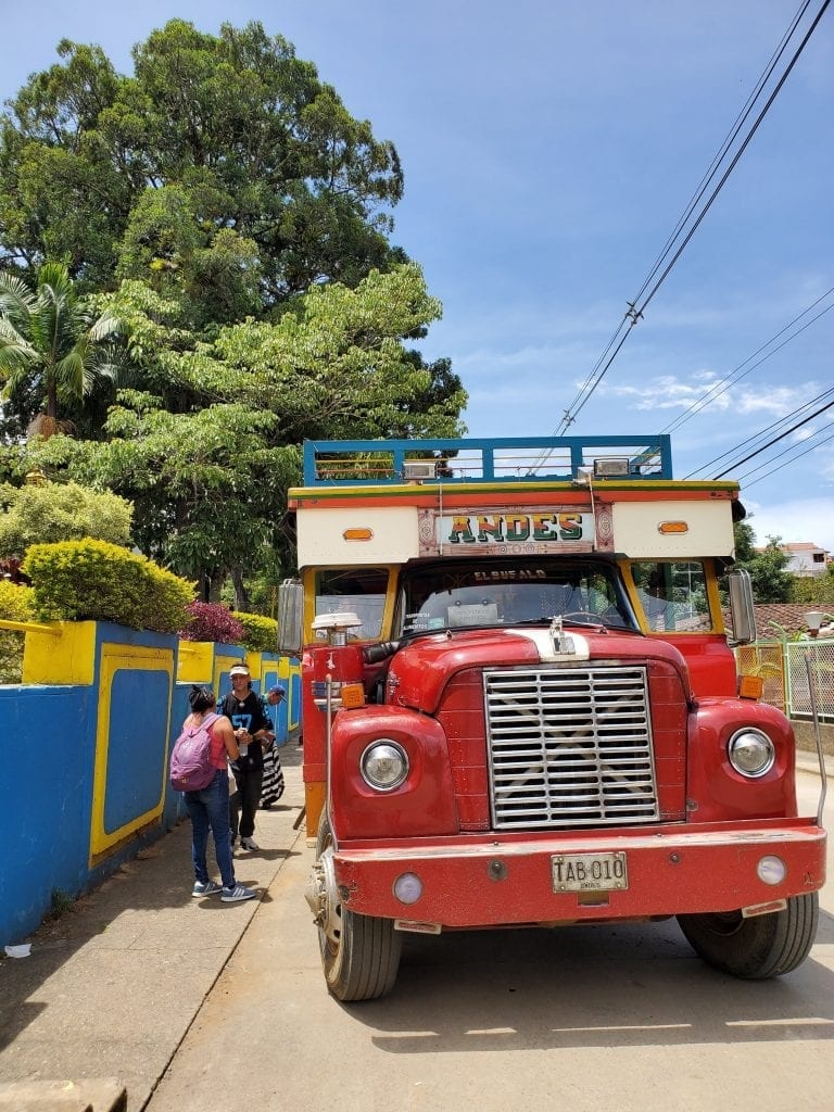Colombia Chiva bus