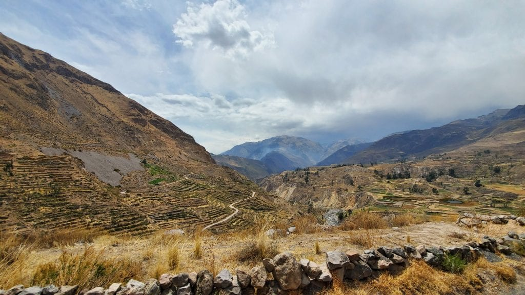 3 Day Colca Canyon Trek Landscape