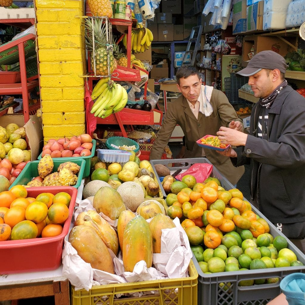 Bogota Travel Guide Fruit Market