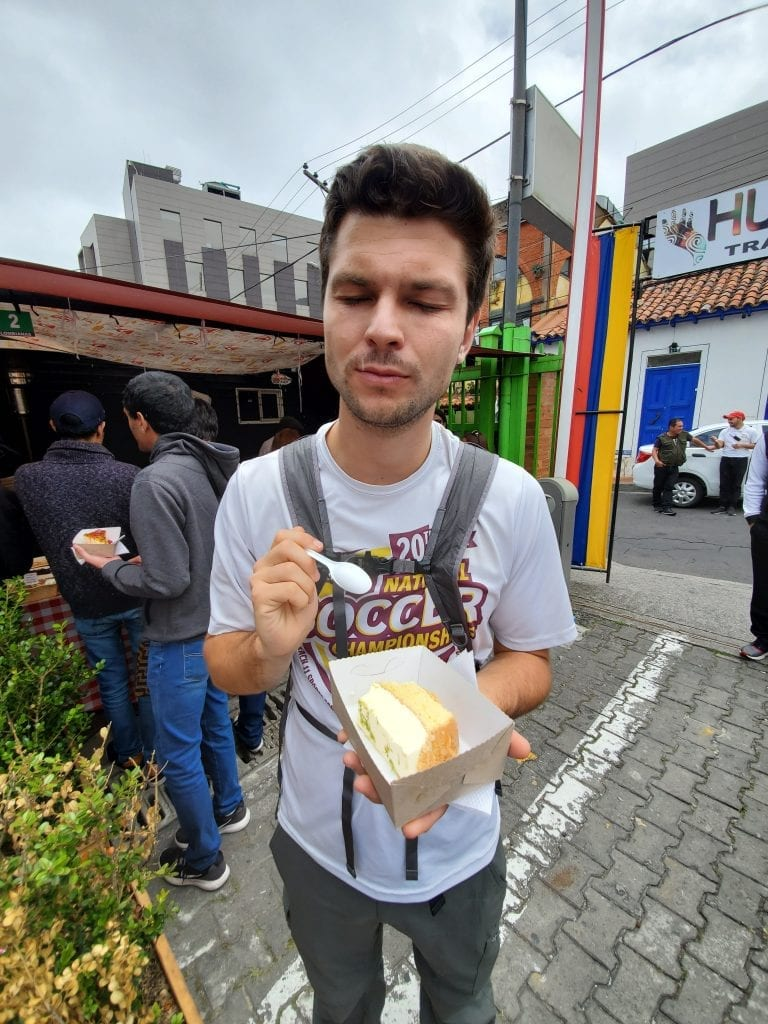 Usaquen Street Market Bogota Cake