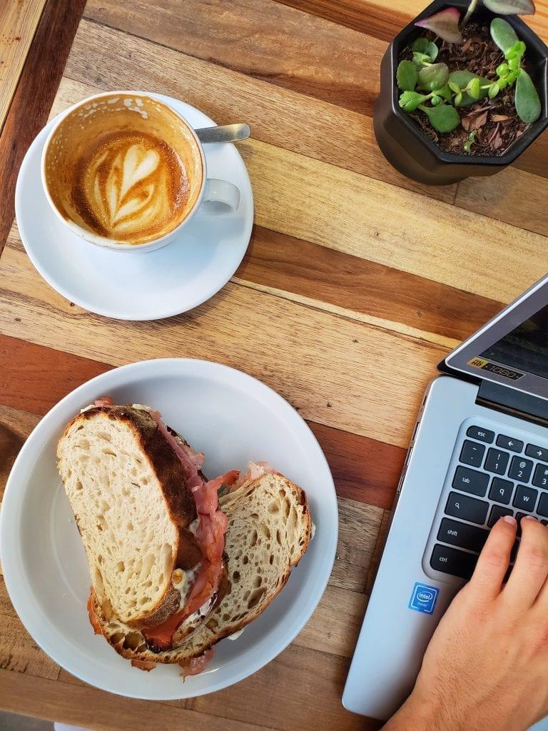 Cordoba Argentina - best cafe sandwich
