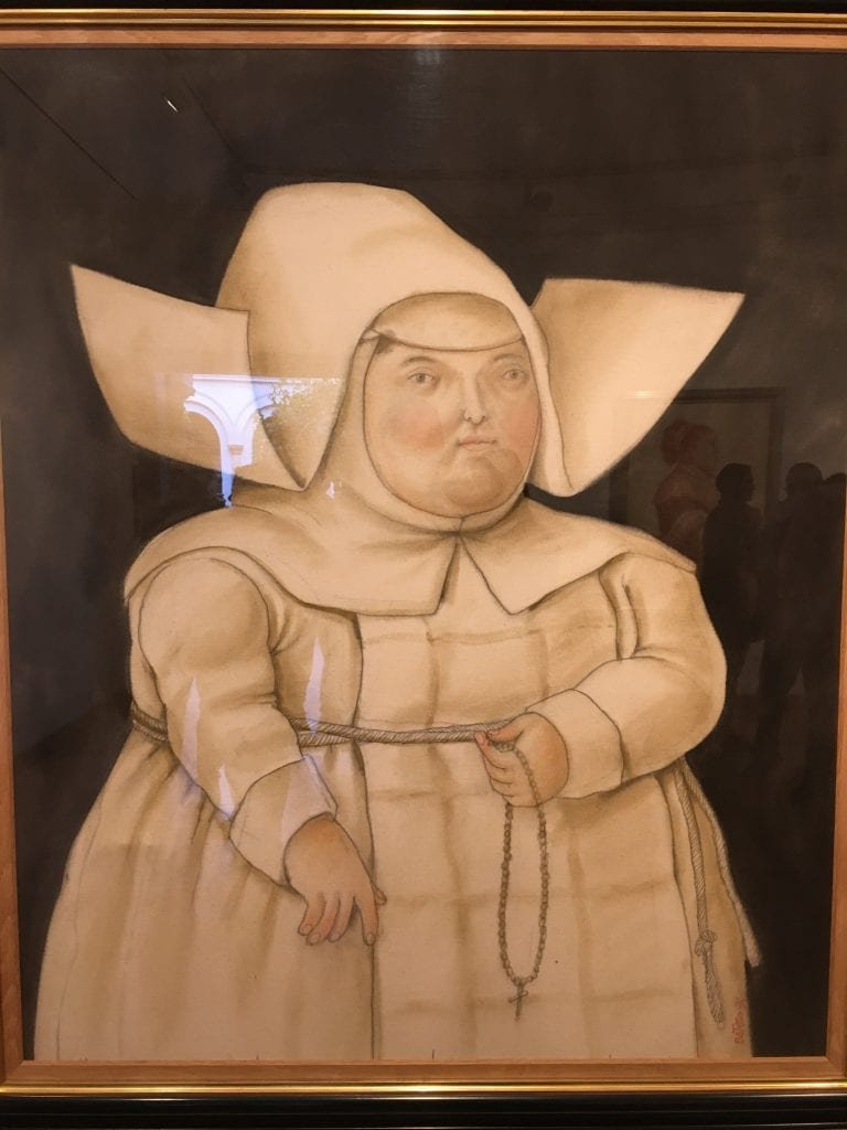 Botero Museum Bogota Lady Painting