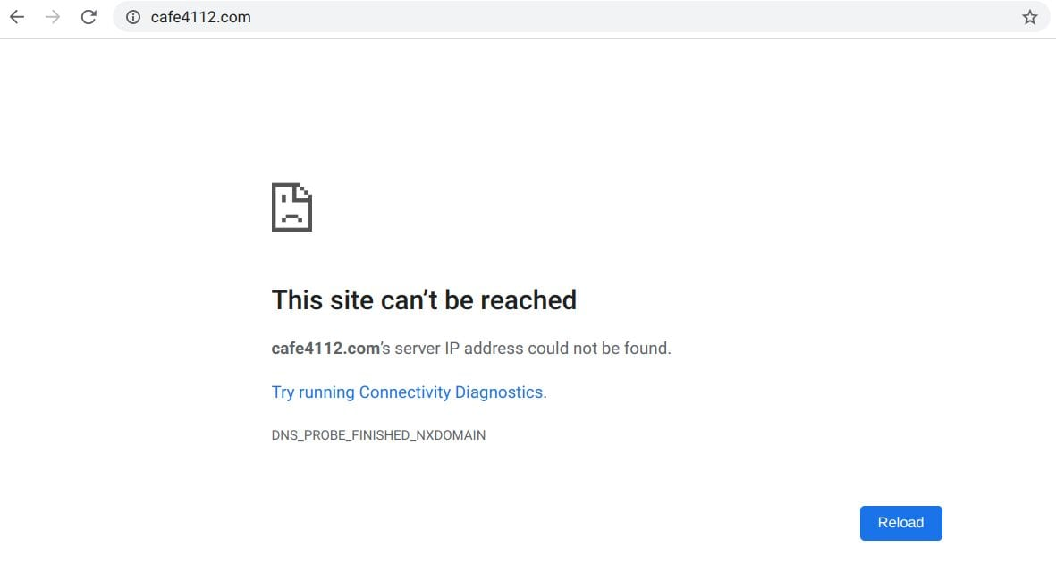 Create a website - find a domain name