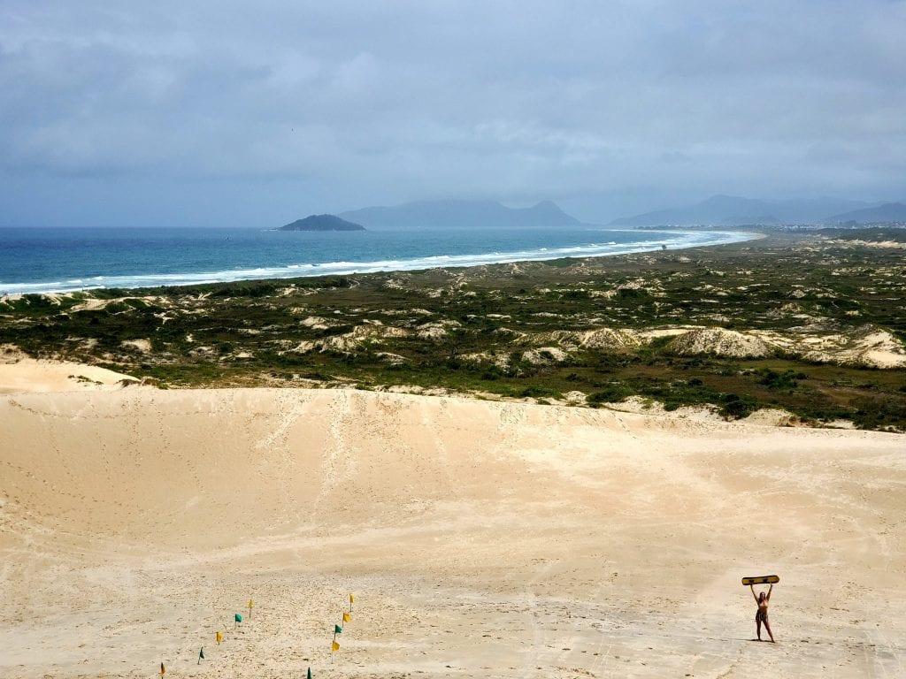 Florianopolis Joaquina Dunes Sandboarding