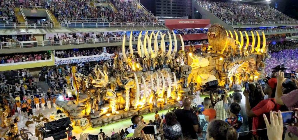 Rio Carnival Lion Float