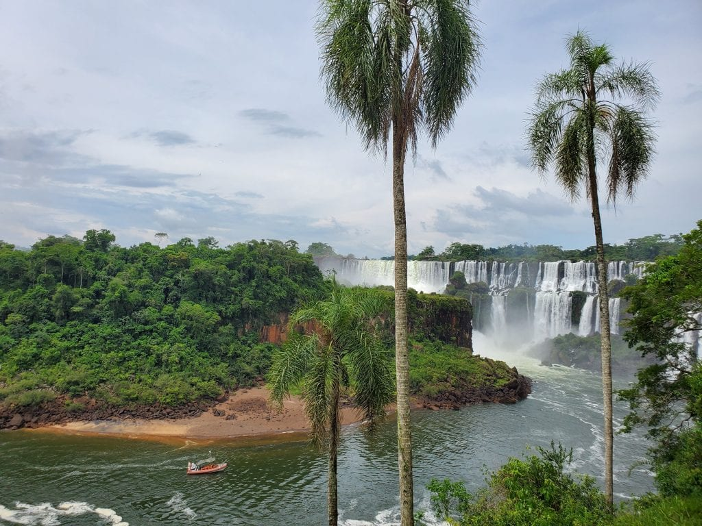 Iguazu Falls lower circuit