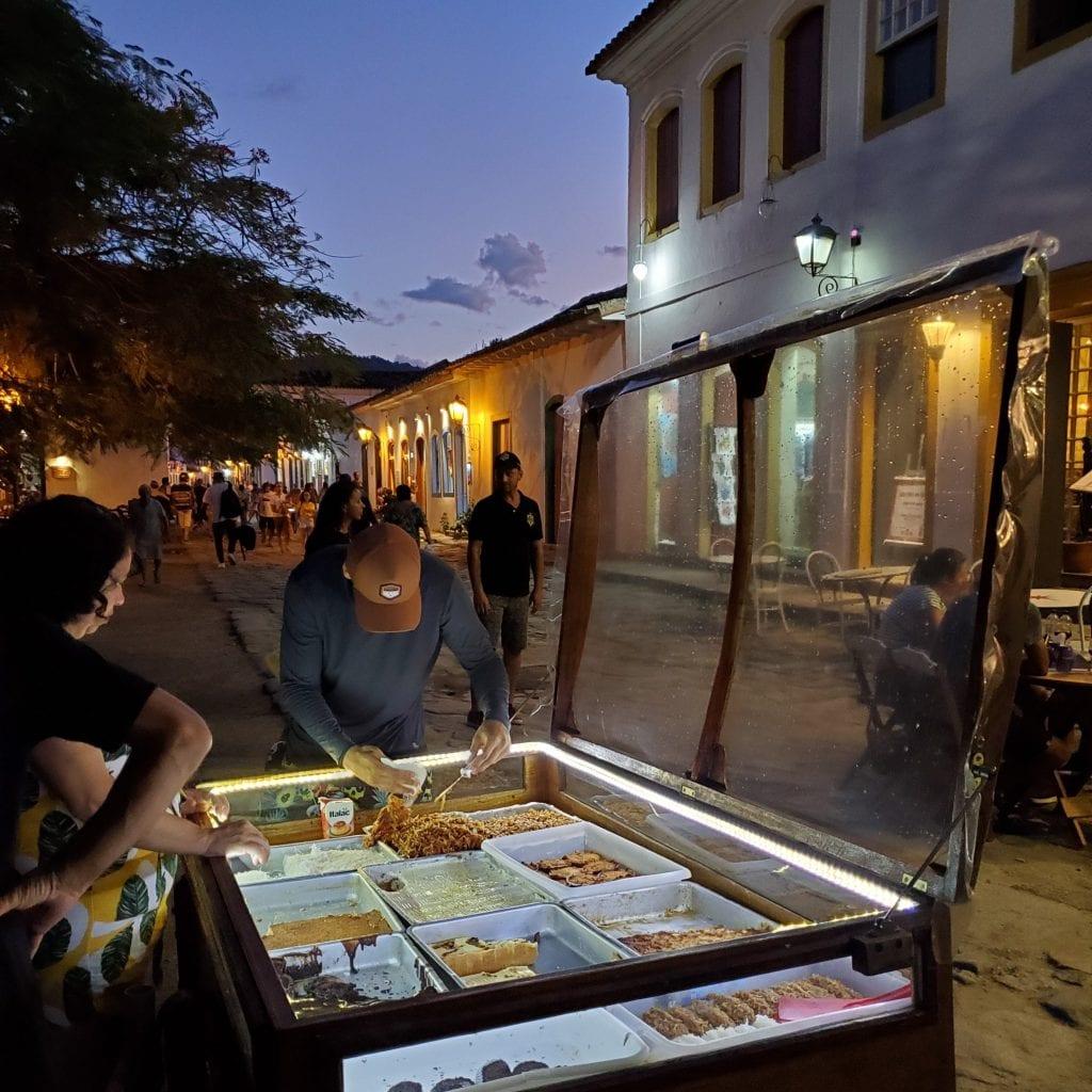 Paraty Brazil - dessert cart