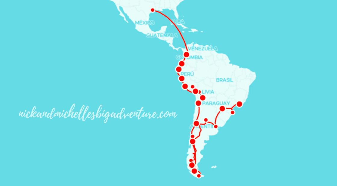 How to Plan a Year-long Trip to South America