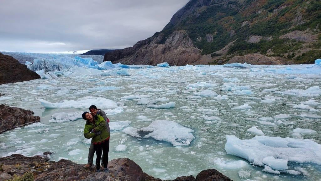 grey glacier torres del paine extended w trek