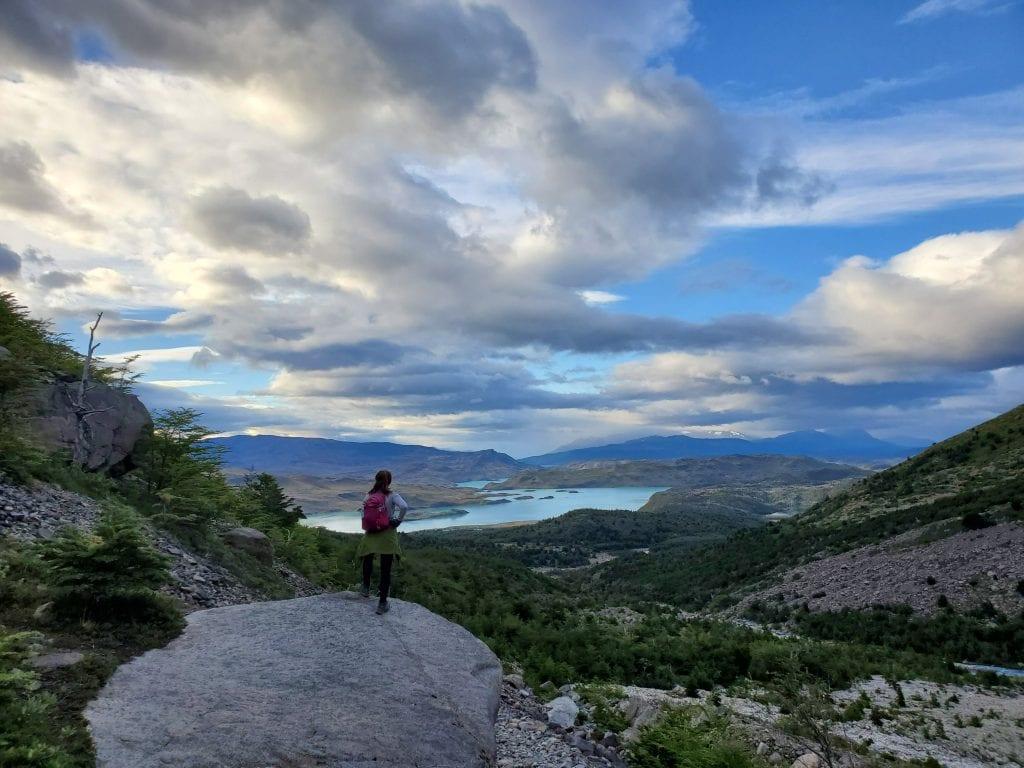 female traveler torres del paine extended w trek