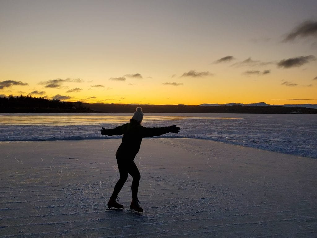 El Calafate ice skating