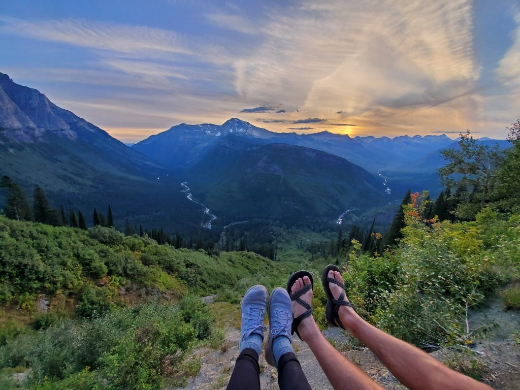 Going to the Sun Road Glacier National Park 3 Day Itinerary Sunset