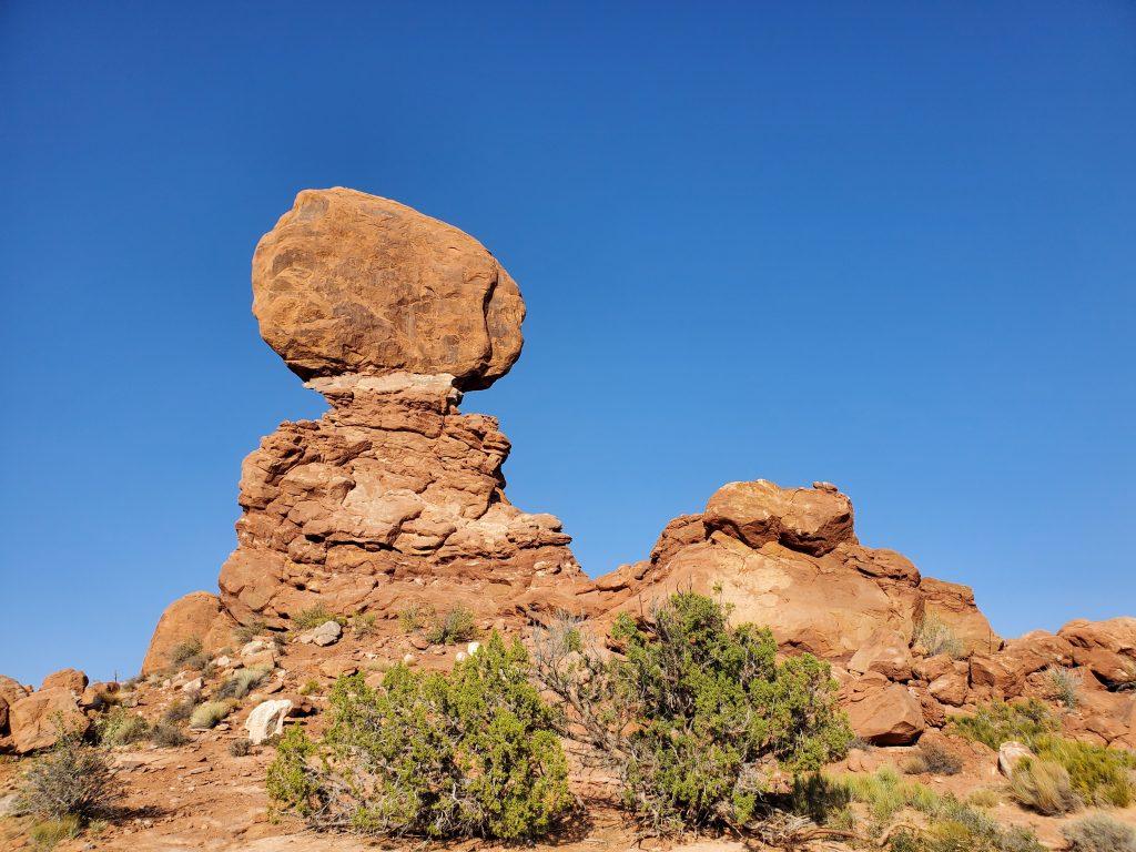 balance rock arches national park