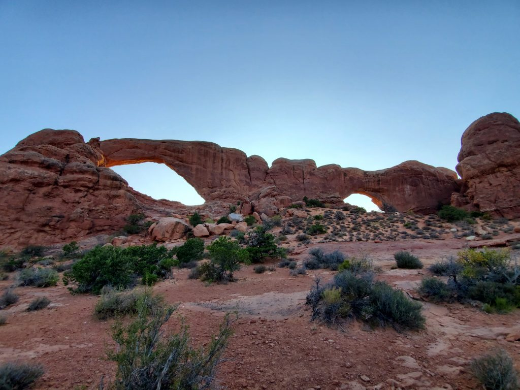the windows arches